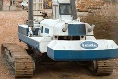 Crane vehicle. Royalty Free Stock Images