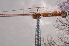 A crane view Royalty Free Stock Photos
