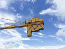 Crane weight Royalty Free Stock Images