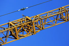 Crane at work Royalty Free Stock Photography