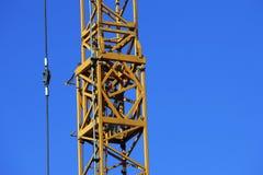 Crane at work Royalty Free Stock Image