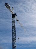 Crane at work Stock Photography
