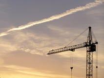 crane wysoki Obrazy Royalty Free