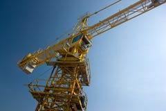 crane wysokiego budynku Zdjęcie Stock