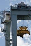 crane zbiorników ładunkowych zdjęcie stock