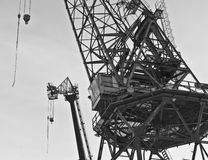 Cranes Royalty Free Stock Photos