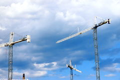Cranes Royalty Free Stock Photos