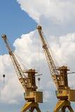 Cranes. Stock Photo