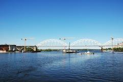 Free Cranes And Bridge Stock Photo - 1513630