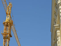 Cranes for buildings Royalty Free Stock Images