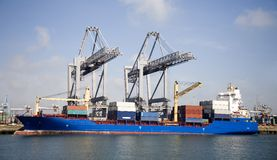 Cranes and carriers 5 stock images