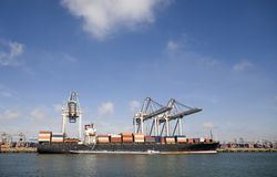 Cranes and carriers 7 Royalty Free Stock Image