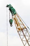 Cranes at a construction site Royalty Free Stock Images
