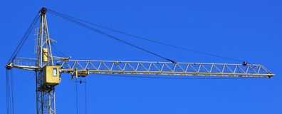 Cranes at a construction site Stock Photography