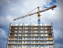 Cranes on a construction site Stock Photography