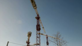 The cranes Royalty Free Stock Photos