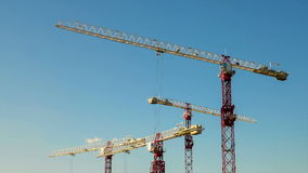 The cranes Stock Photography