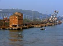 Cranes of Goa Stock Images