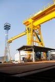 Cranes l'industria Fotografia Stock