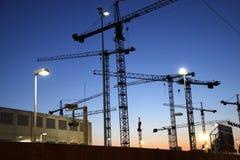 Cranes Royalty Free Stock Photo