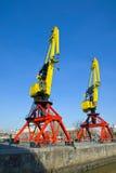 Cranes in Puerto Madero Stock Photography