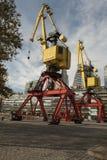Cranes - Puerto Madero Stock Image