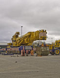 Cranes ready for transportation Royalty Free Stock Images
