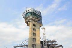 Cranes working  at Container Terminal hong kong Royalty Free Stock Image