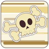 Cranio & Crossbones royalty illustrazione gratis