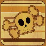 Cranio & Crossbones Immagine Stock