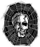 Cranio arrabbiato del mostro Immagini Stock Libere da Diritti