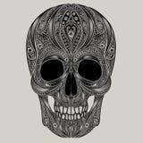 Cranio astratto per Halloween illustrazione di stock