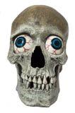 Cranio con gli occhi Fotografia Stock Libera da Diritti