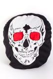 Cranio con l'occhio rosso Fotografie Stock Libere da Diritti