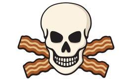 Cranio del bacon Fotografia Stock Libera da Diritti