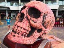 Cranio del fantasma Immagini Stock