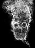 Cranio del fumo Fotografia Stock Libera da Diritti