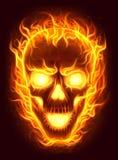 Cranio del fuoco illustrazione vettoriale