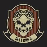 Cranio del ribon di Hellrider royalty illustrazione gratis