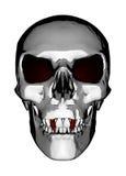 Cranio del vampiro fotografie stock