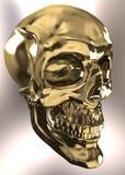 Cranio dell'oro Immagini Stock Libere da Diritti