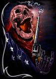 Cranio della stella immagini stock libere da diritti