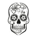 Cranio dello zucchero illustrazione di stock