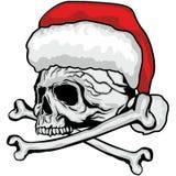 Cranio di Natale illustrazione vettoriale
