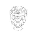 Cranio di stile della via Fotografia Stock Libera da Diritti