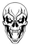 Cranio diabolico Fotografie Stock