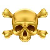 Cranio e crossbones Fotografie Stock