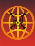Cranio e crossbones - vettore Fotografie Stock Libere da Diritti