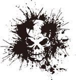 Cranio e pittura, Fotografie Stock