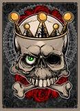 Cranio ed ossa Fotografie Stock